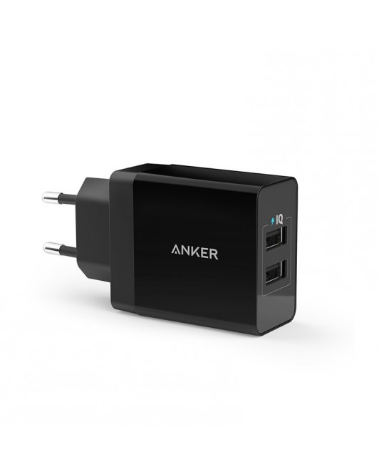 Anker Wall Charger PowerPort 2 Hitam - A2021L11