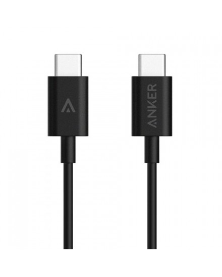 Anker PowerLine USB-C to USB-C 3.3ft/1m - Black A8180011
