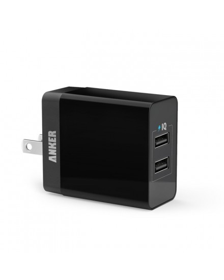 PowerPort 2 Lite US Charger Black A2129J11