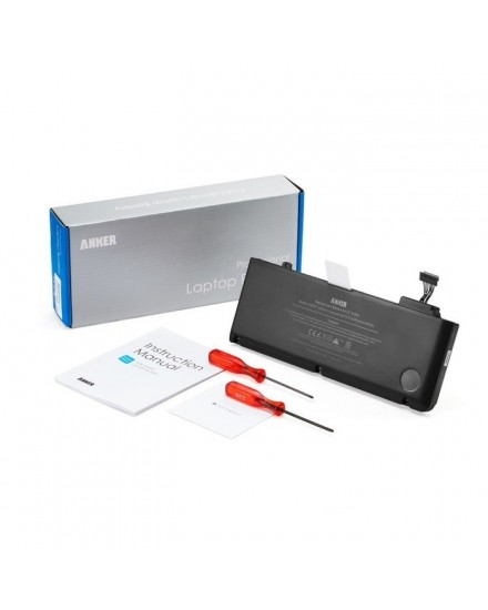 Anker Replacement Apple A1322 Battery 11.1V 6000mAh Black A6507012