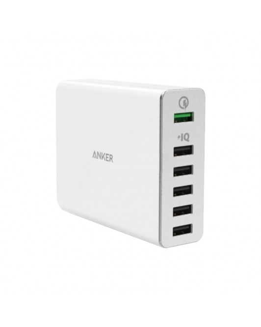 Anker Powerport+ 6 Quick Charge 3.0 White A2063J21