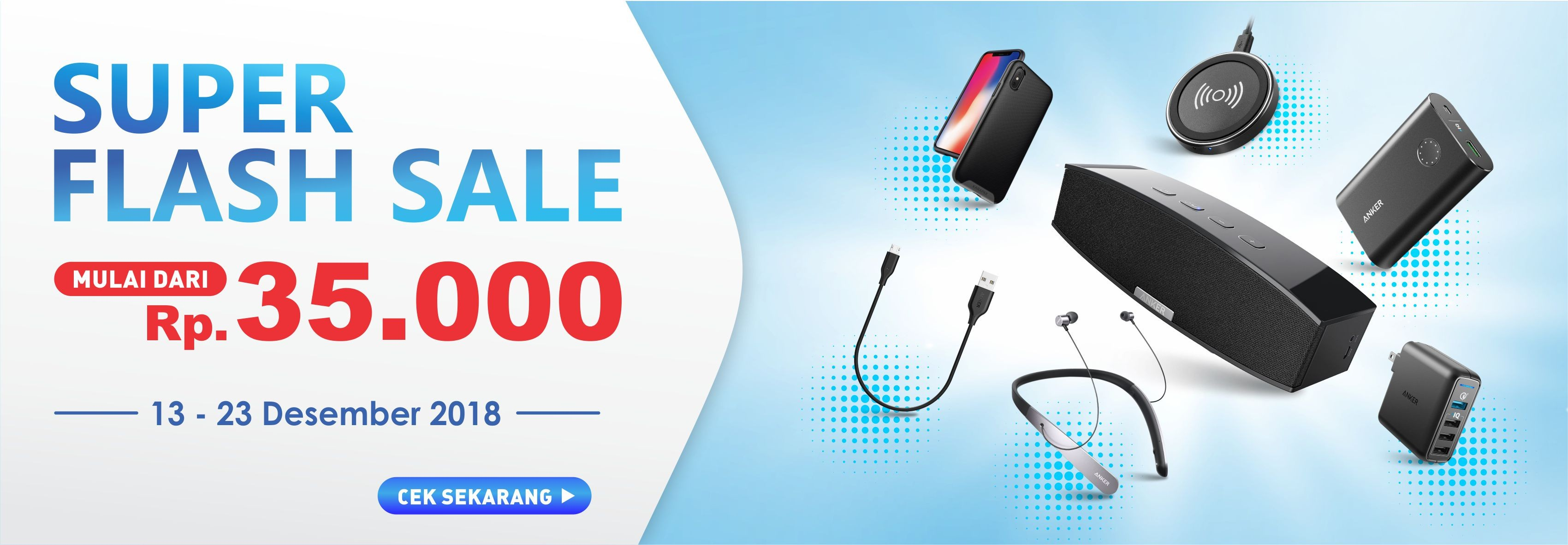 Super Flashsale Anker