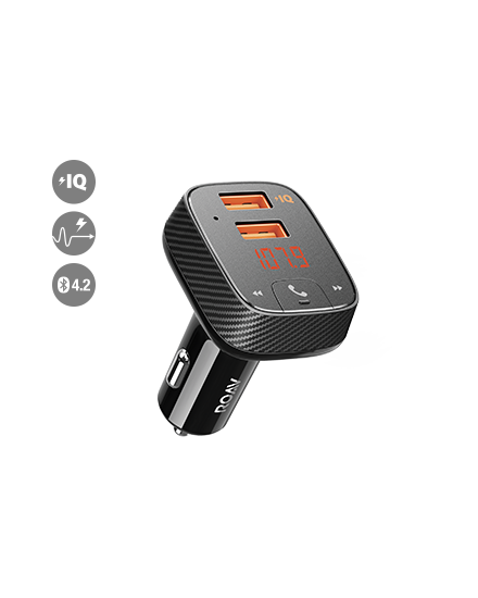 Anker Roav Smart car charger F2 hitam - R5111Z11