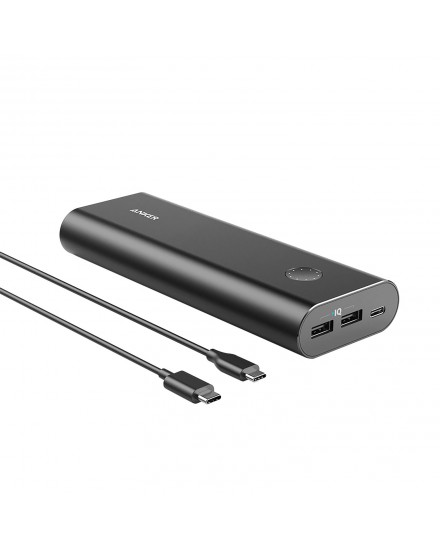 Anker PowerCore+ 20100 mAh USB-C Black A1371H12