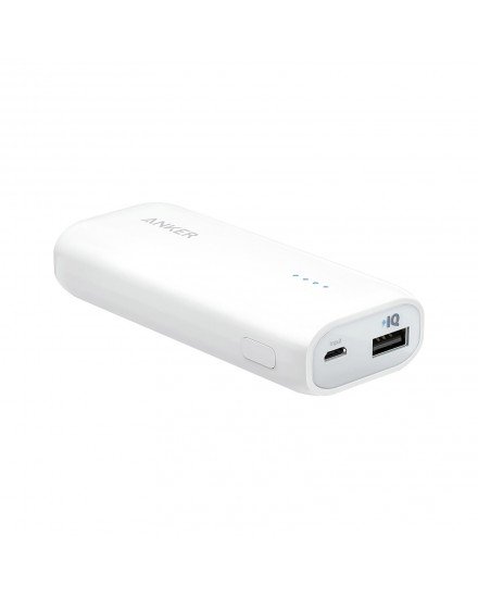 Anker Astro E1 Power Bank 5200 mAh White A1211H22