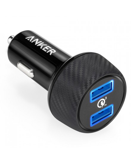 Anker PowerDrive Speed 2 Quick Charge 3.0 Black A2228011