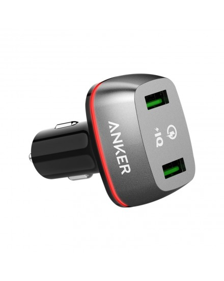 Anker PowerDrive+ 2 Quick Charge 3.0 Black A2224H12