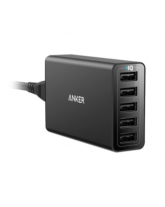 Anker Desktop Charger PowerPort 5 Black A2124L11