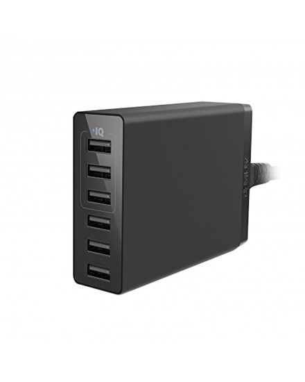 Anker PowerPort 6 Lite 30w desktop charger 6-Port EU Black in offline for EU A2061G11