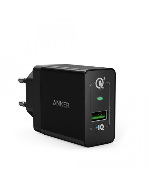 Anker PowerPort+ 1 Quick Charge 3.0 Black A2013L11