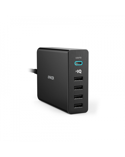 Anker PowerPort+ 5 USB-C Power Delivery Black A2053L11