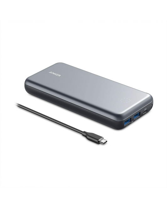Powerbank Anker PowerCore+ 19000 PD Black A1362H11