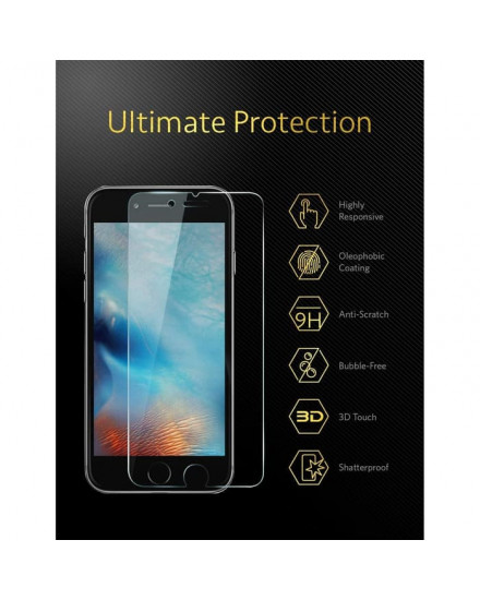 Anker Karapax Tempered Glass for iPhone 8 Plus/7 Plus - A7479001