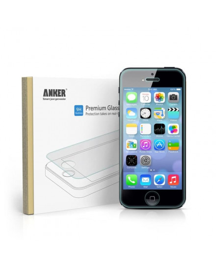 Anker Glass Screen Protector for Apple iPhone 5 5S 5C - 77APIPH5-1T1A