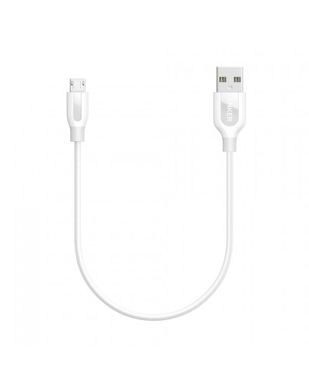Anker PowerLine+ Micro USB 1ft Fast Charging A8141H21