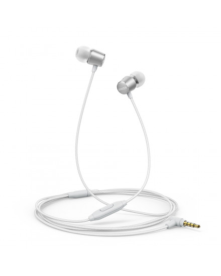 Earphone Anker New SoundBuds Verve Silver - A3801