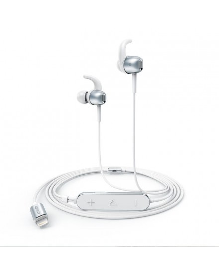Anker Earphone SoundBuds ie10 silver - A3011H41