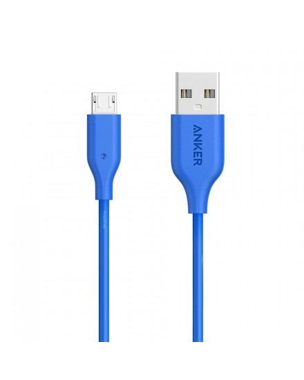 Anker PowerLine Micro USB Cable 3ft/0.9m - Blue A8132H31