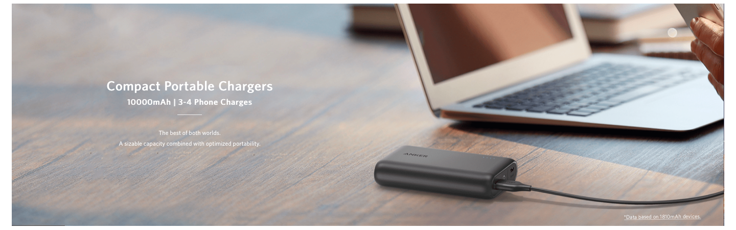 Compact Portable Chargers